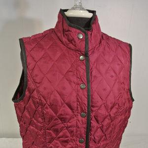 EDDIE BAUER Large 650 GOOSE Down Puffer Vest
